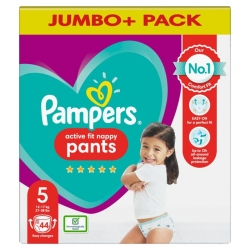 Pampers Pants 5 Active Fit (12-17kg) 44vnt.