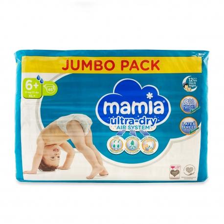 Mamia 6+ (17+kg) 46vnt.