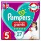 Pampers Pants 5 Active Fit (12-17kg) 27vnt.