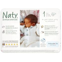 Naty 1 (2-5kg) 26vnt.