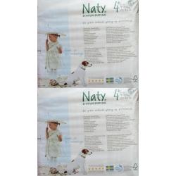 Nature Babycare 4+ (9-20kg) 50vnt.