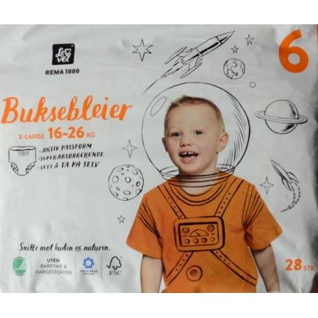Bleer Bleier Pants 6 (16-26Kg) 28vnt.