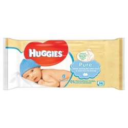 Huggies Pure, 56vnt.