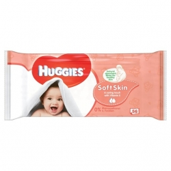 Huggies Soft Skin, 56vnt.