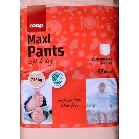 Coop Pants 4 (7-16Kg) Maxi 42vnt.