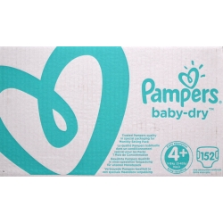 Pampers Baby-Dry 4+(9-18kg) 152vnt.