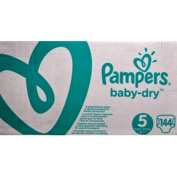 Pampers Baby Dry 5(11-16kg)144vnt.