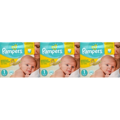 Pampers New Baby 1 (2-5kg) 69vnt.