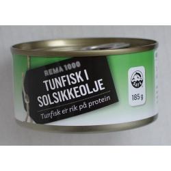 Tunas saulėgrąžų aliejuje