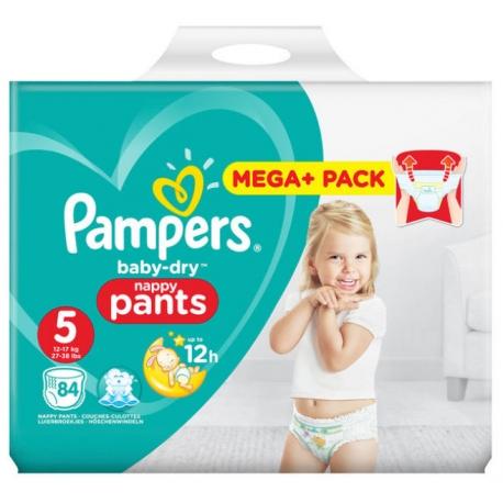 Pampers Pants 5 (12-17kg) 84vnt.