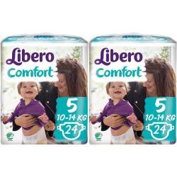 Libero Comfort 5 (10-14Kg) 48vnt.