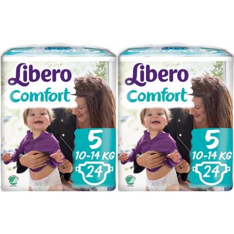 Libero Comfort (10-14Kg) 48vnt.