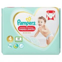 Pampers Pants 4 Premium Protection (9-15kg) 32vnt.