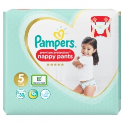Pampers Pants 5 Premium Protection (12-17kg) 30vnt.