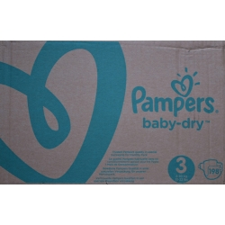 Pampers Baby Dry 3 (6-10kg) 198vnt.