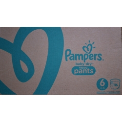 Pampers Pants 6 (15+kg) 116vnt.