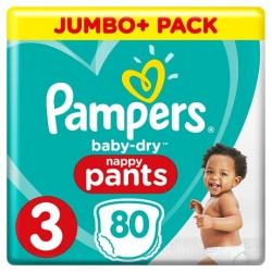 Pampers Pants 3 (6-11kg) 80vnt.