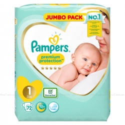 Pampers Premium Protection 1 (2-5kg) 72vnt.