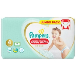 Pampers Pants 4 Premium Protection (9-15kg) 47vnt.