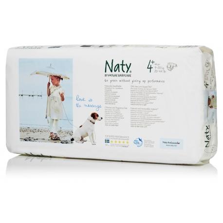 Nature Babycare 4+ (9-20kg) 44vnt.