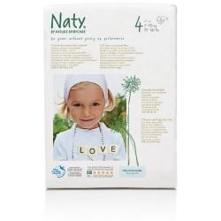 Naty 4 (7-18kg) 27vnt.