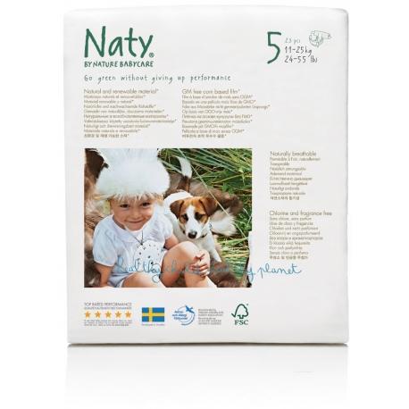 Nature Babycare 5 (11-25kg) 23vnt.