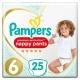 Pampers Pants 6 Premium Protection (15+kg) 25vnt.