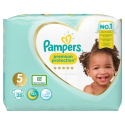 Pampers Premium Protection 5 (11-16kg) 35vnt.