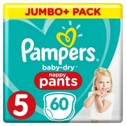 Pampers Pants 5 (12-17kg) 60vnt.