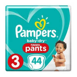Pampers Pants 3 (6-11kg) 44vnt.