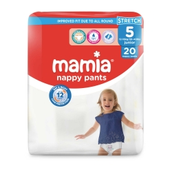 Mamia Nappy Pants 5 (12-18Kg) Junior 20vnt.