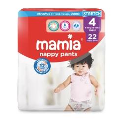 Mamia Nappy Pants 4 (8-15Kg) Maxi 22vnt.
