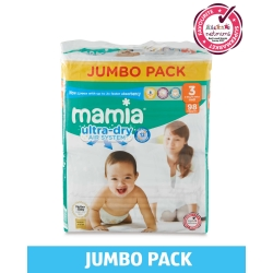 Mamia 3 (4-9kg) 98vnt.