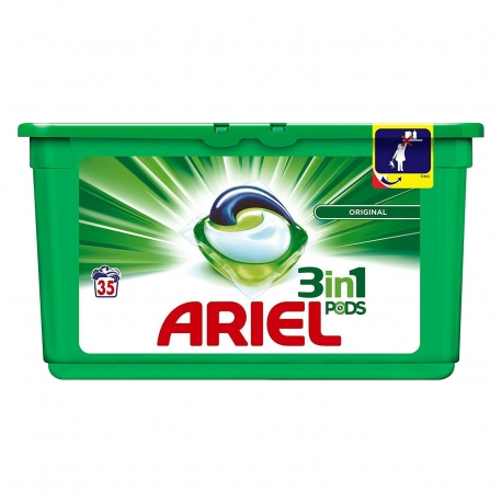 Ariel 3In1 Pods, 35vnt.