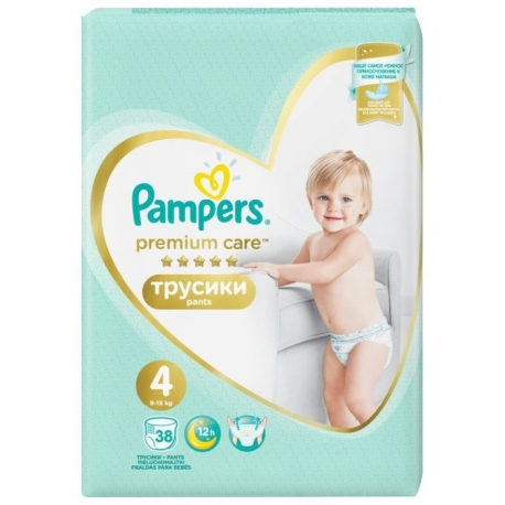 Premium Care Pants 4 (9-15kg) 38vnt.