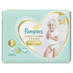 Premium Care Pants 5 (12-17kg) 34vnt.