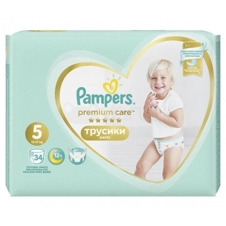 Premium Care Pants 5 (12-17kg) 34vnt.