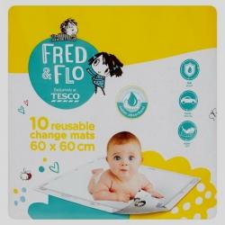 FRED & FLO higieniniai paklotai 60cm x 60cm, 10vnt.