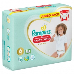 Pampers Pants 6 Premium Protection (15+kg) 35vnt.