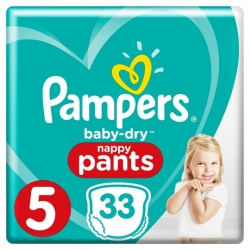 Pampers Pants 5 (12-17kg) 33vnt.