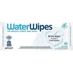 Servetėlės WaterWipes, 60vnt.
