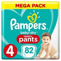 Pampers Pants 4 (9-15kg) 82vnt.