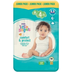 Little Angel Comfort & Protect 4 (7-18Kg) 84vnt.