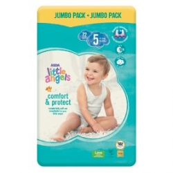 Little Angel Comfort & Protect 5 (11-25Kg) 72vnt.