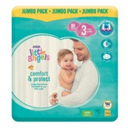 Little Angel Comfort & Protect 3 (4-9Kg) 98vnt.