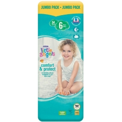 Little Angel Comfort & Protect 6 (16+Kg) 54vnt.