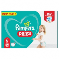 Pampers Pants 6 (15+kg) 88vnt.