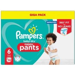 Pampers Pants 6 (15+kg) 84vnt.