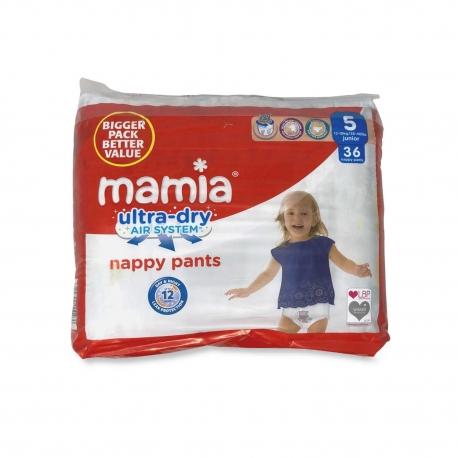 Mamia Nappy Pants 5 (12-18Kg) 36vnt.