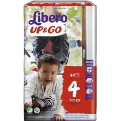 Libero Up&Go 4 (7-11Kg) 44vnt.